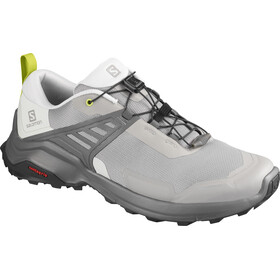 Salomon X Raise Sko Herrer, frost gray/lunar rock/lime punch